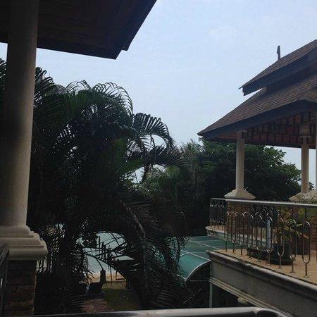 Baan Fah Resort Samui : Вид с террасы