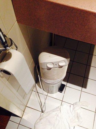 Falcon Plaza Hotel: bagno hotel falcon amsterdam scaldino per il bagno stile ghiacciaia