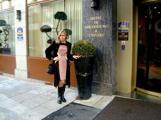 BEST WESTERN Hotel Strasbourg: У отеля