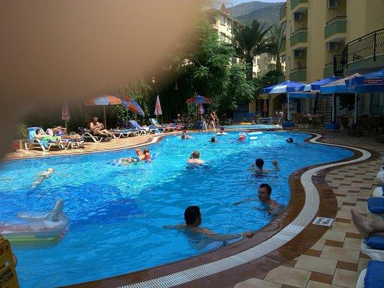 Kleopatra Dreams Beach Hotel : Pool