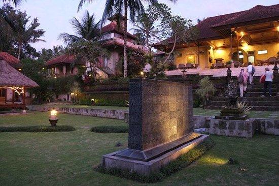 Hotel Villa-Ubud : Atardecer