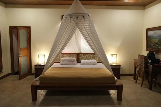 Hotel Villa-Ubud: Tanah Lot. Dormitorio
