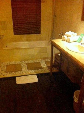 Hotel Villa-Ubud: Baño