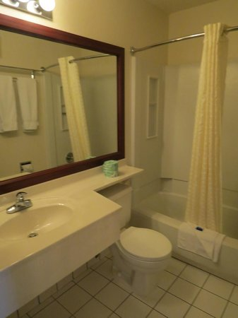 Best Western Eden Prairie Inn: Bathroom.