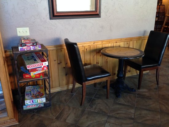 Sorrel River Ranch Resort and Spa: Games area in the main lobby
