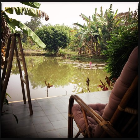 Battambang Resort: Lake Room view 2