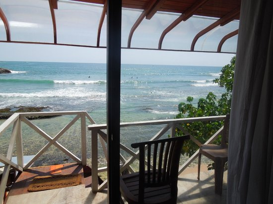 Coral Beach Guesthouse : View