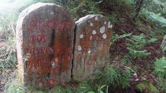 Hotel Monte Blanco: Кельтские руины