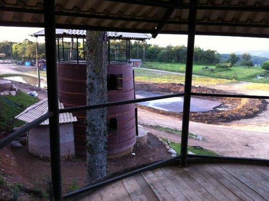 Hotel Fazenda Pampas: Vista das cabanas