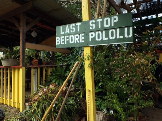 Makapala Store and Cafe: like it says..last stop brah!