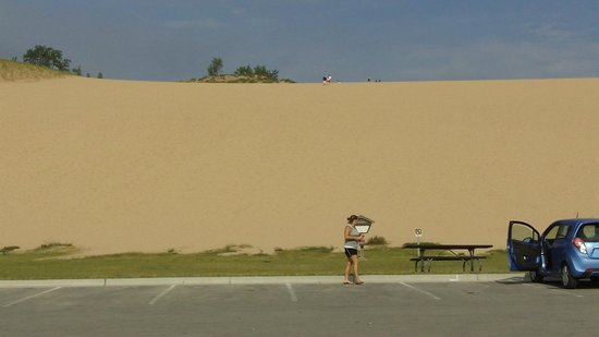 Sleeping Bear Dunes National Lakeshore : Dune climb area
