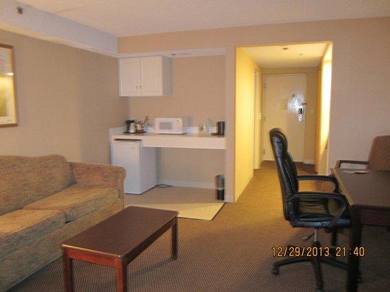 Atlantic Beach Hotel: livingroom