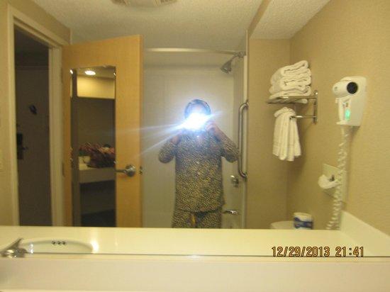 Atlantic Beach Hotel: Bathroom