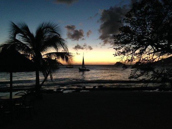 Palm Island Resort & Spa: sunset