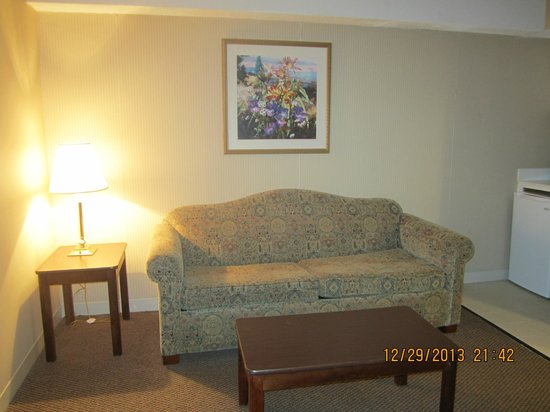 Atlantic Beach Hotel: Sitting area