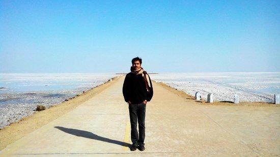 At white desert