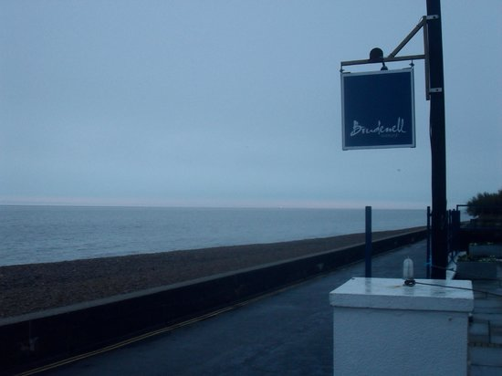 The Brudenell Hotel: View of beach from the front of hotel. Taken early morning in December.