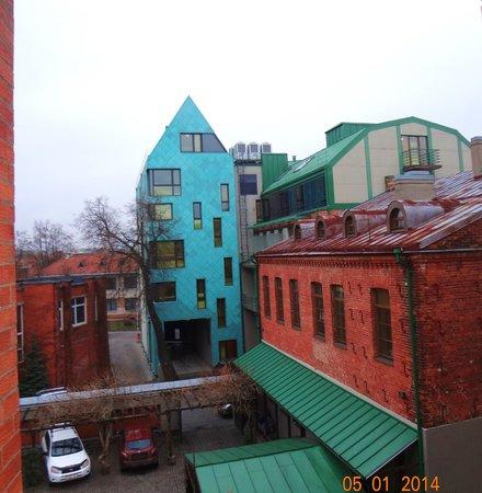 Best Western Santakos Hotel: вид из окна