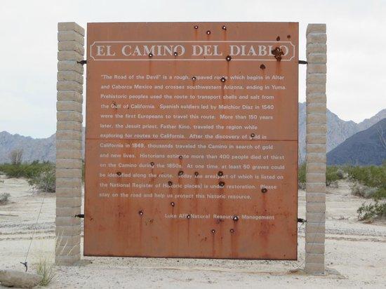 Cabeza Prieta National Wildlife Refuge: El Camino del Diablo