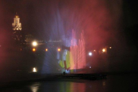 Parque Warner: Espectáculo Nocturno