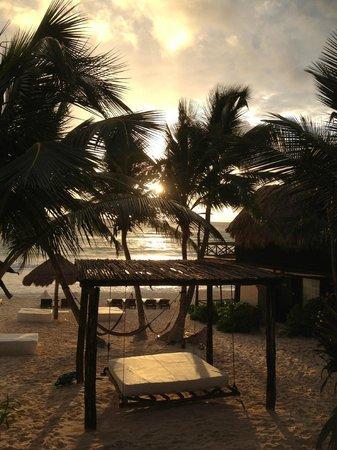 Luv Tulum: Sonnenaufgang vom Zimmer aus
