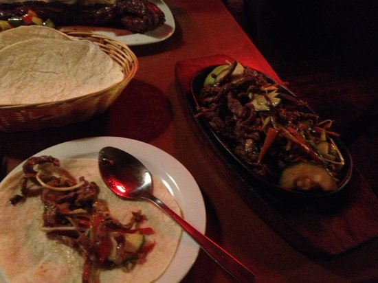 Restaurante Cisco's : Fajitas