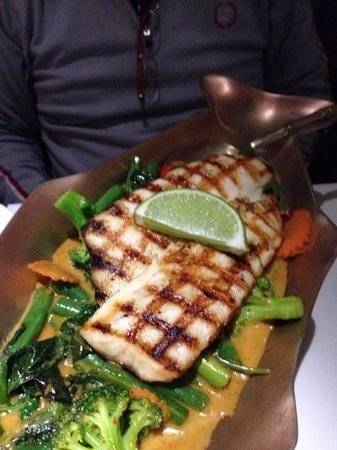 Talay Thai Restaurant: Grilled Cobia