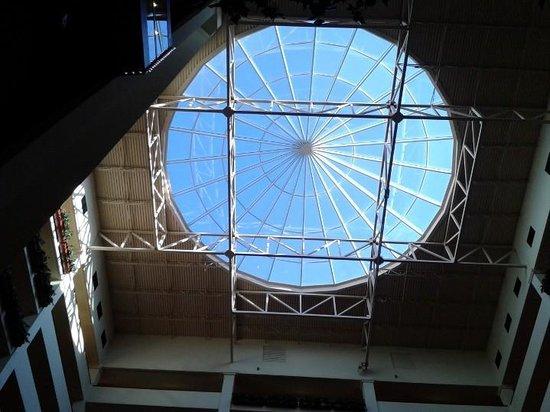 Renaissance Charlotte Suites Hotel: Lobby skylight