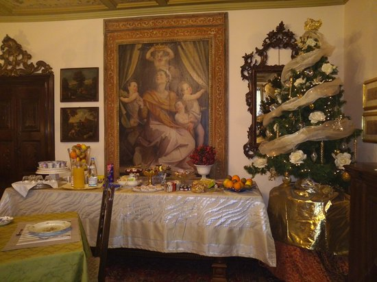 B&B Antica Dimora Conti Custoza : buffet