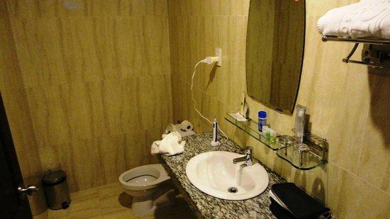 Arcadia Phu Quoc Resort: The bathroom