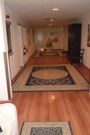 Osborne Hotel: Corridoio interno piano 5°