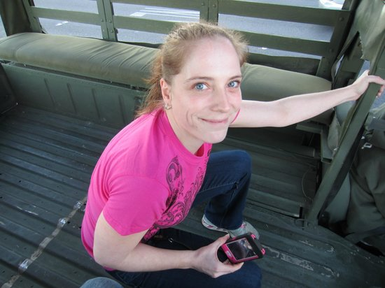 Battlefield Vegas: Cruisin the Strip in a Humvi