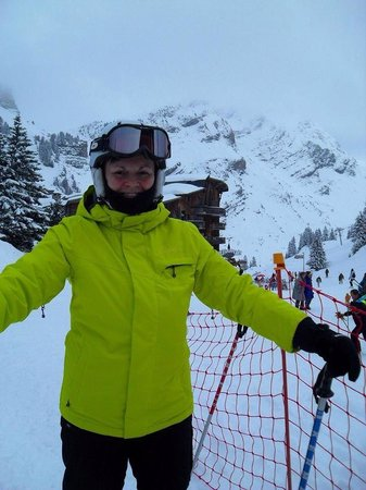 Brown Bear Lodge : Newbee to the Skiing thing but the wife has all the gear ��