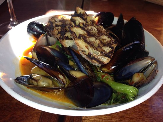 Sake Steamed Mussels - Picture of Cafe Verde, New Smyrna Beach ...