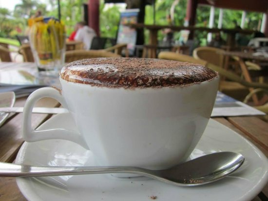 Whileaway Bookshop & Cafe: Cappuccino