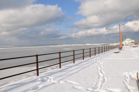 Lake Saroma Tsuruga Resort : サロマ湖を一望できるスポットから