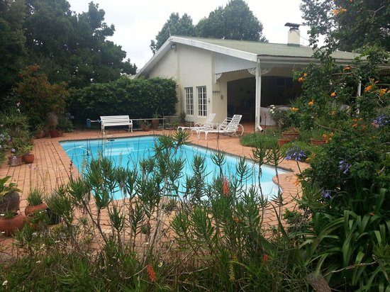 Stocklands Farm: The pool and pool house