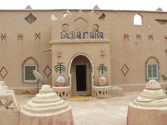 Auberge La Baraka: Eingang