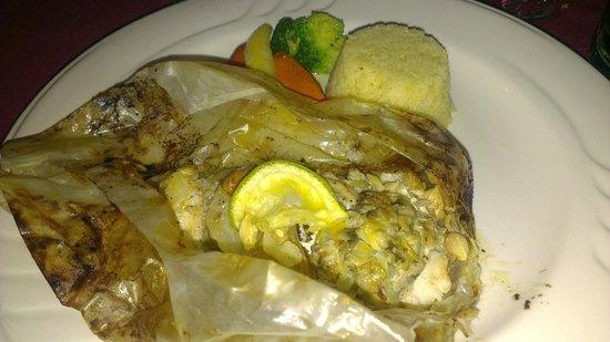 Jolly Beach Resort & Spa : Italian restaurant main...Fish in a parcel