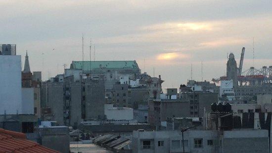 ViewPort Hotel Montevideo: Vista desde el último piso