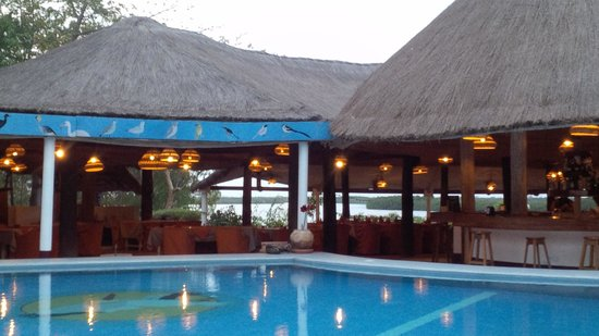 Hotel Keur Saloum: Could easily spend all day here, just watching the world go by!