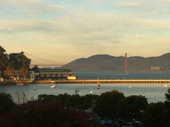 Argonaut Hotel, A Noble House Hotel: Blick auf die Golden Gate Bridge