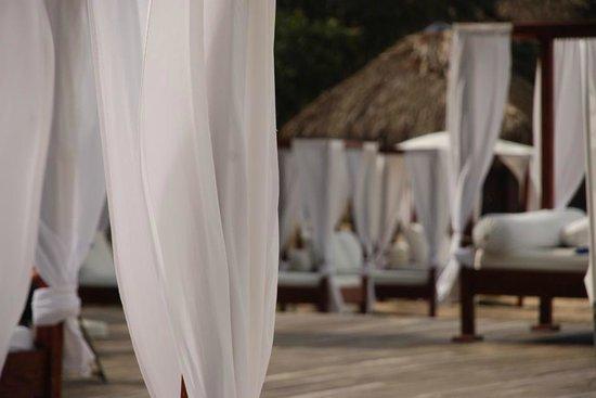 Blue JackTar: White Beach Beds