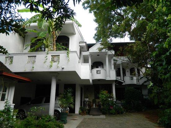 Tamaya B&B and Hostel, Colombo: Entrance