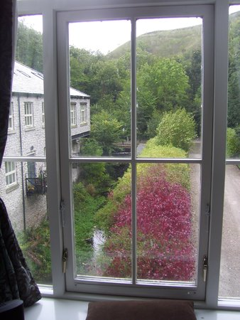 Litton Mill, UK: View from the bedroom