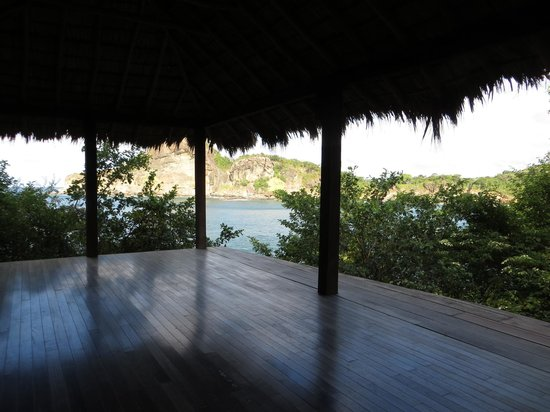 Aqua Wellness Resort: Yoga platform in the morning