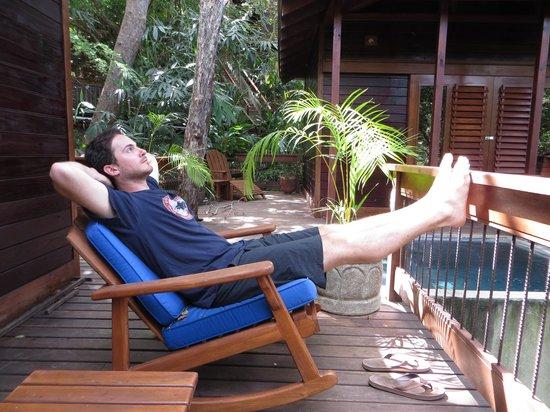 Aqua Wellness Resort: Our deck