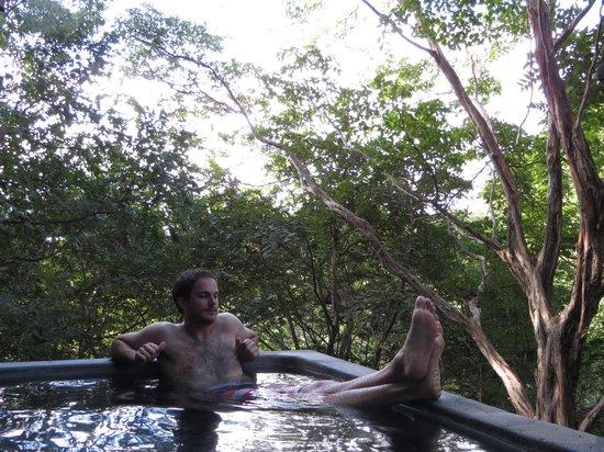 Aqua Wellness Resort: Plunge pool on our deck