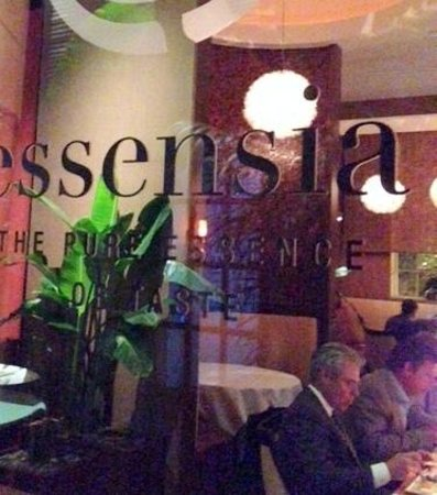 Essensia Restaurant & Lounge: The entrrance to Essensia