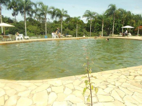 Hotel Fazenda Aguas Emendadas : Piscina de água natural